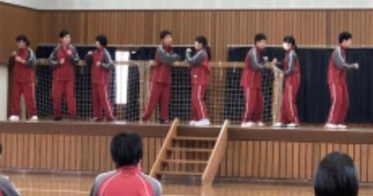 音更町立共栄中学校ダンス講習会(2020年1月28日(火)~29日(水))楽しく開催!
